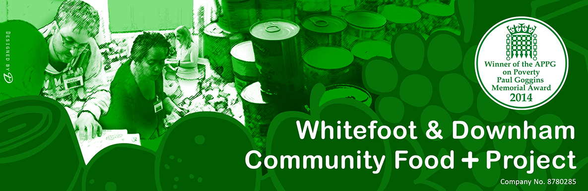 Whitefoot and Downham Community Food + Project logo